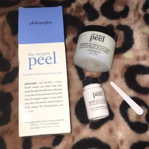 Philosophy- the oxygen peel face treatment✨